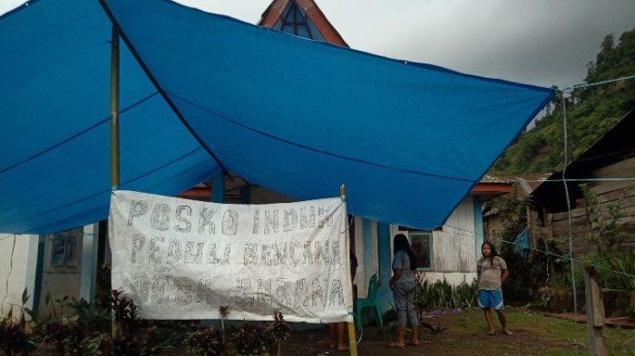Ratusan Warga di Tabulahan Mengungsi Akibat Banjir dan Tanah Longsor