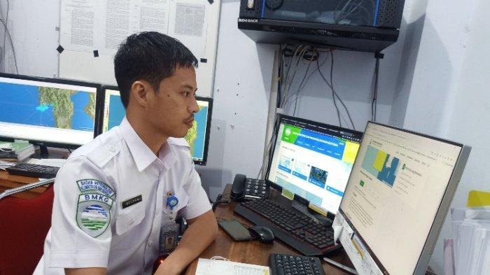 Cuaca Ekstrem Majene-Polman, BMKG Imbau Nelayan Waspada Melaut, Gelombang Mencapai 2,5 Meter
