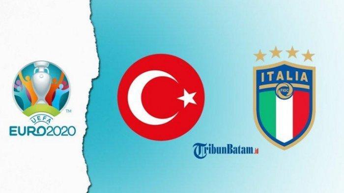 Prediksi Skor dan Susunan Pemain Turki vs Italia, Laga Pembuka EURO 2020 Live Streaming RCTI