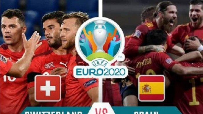 Prediksi Susunan Pemain Swiss vs Spanyol EURO 2020 & Live Streaming RCTI Malam Ini Pukul 23.00