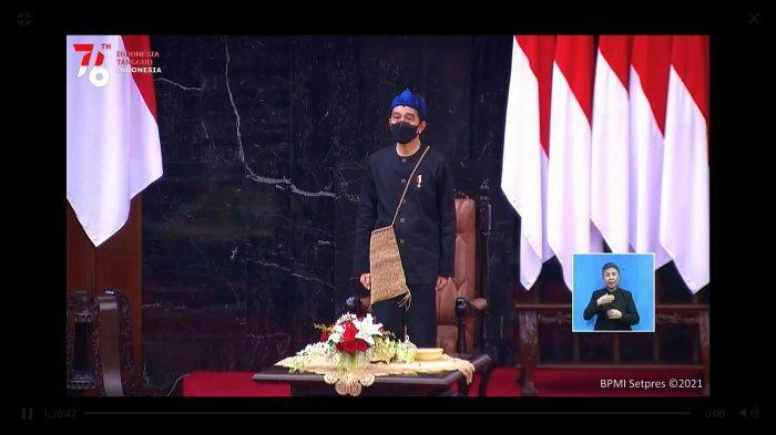 Mengenal Baju Adat Suku Baduy Lengkap dengan Tas Koja yang Dikenakan Presiden Jokowi