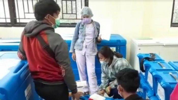 Dinkes Mamasa Distribusikan Vaksin Moderna untuk Nakes di 17 Kecamatan