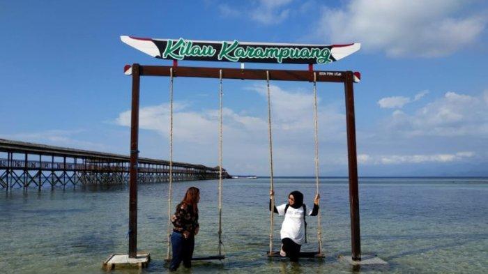 Pulo Karampuang di Mamuju