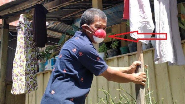 Cerita Rahman, Pakai Masker dari Batok Kelapa, Dicibir Tetangga dan Dikira Gila