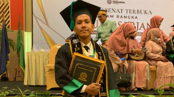 PROFIL Rahmat Fauzan, Wisudawan Terbaik Institut Parahikma Indonesia Tahun 2021
