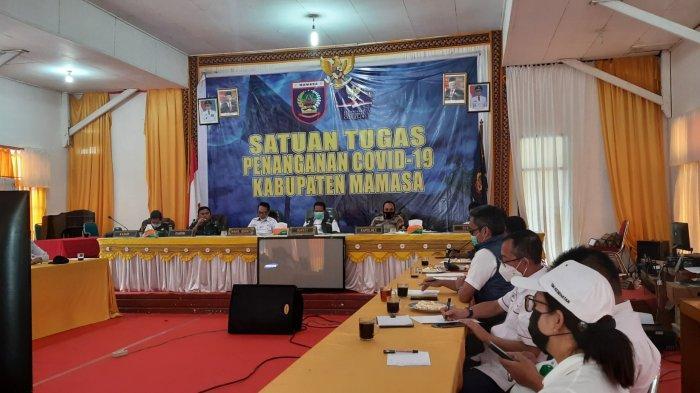 Kasus Positif Covid-19 di Mamasa Naik, Bupati Ramlan Badawi: Kebanyakan Datang dari Luar Daerah