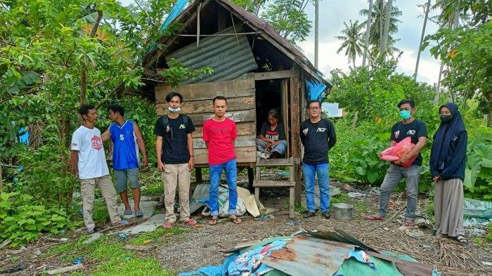 Tinggal Sebatang Kara di Gubuk Reyot, Jane Dapat Bantuan dari Relawan ACT Majene