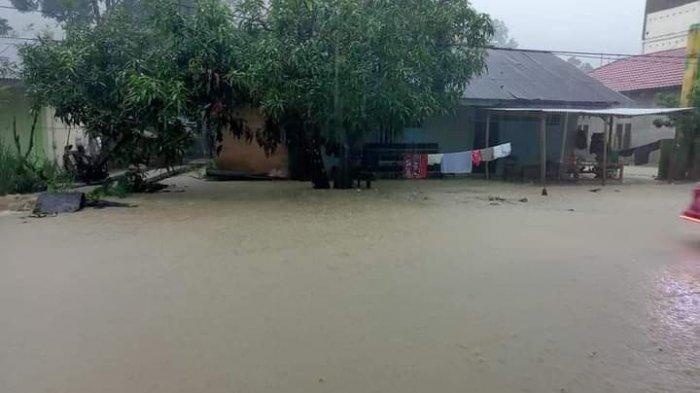 Drainase RS Pratama Majene Buruk, Rumah Warga Salutambung Ulumanda Kebanjiran