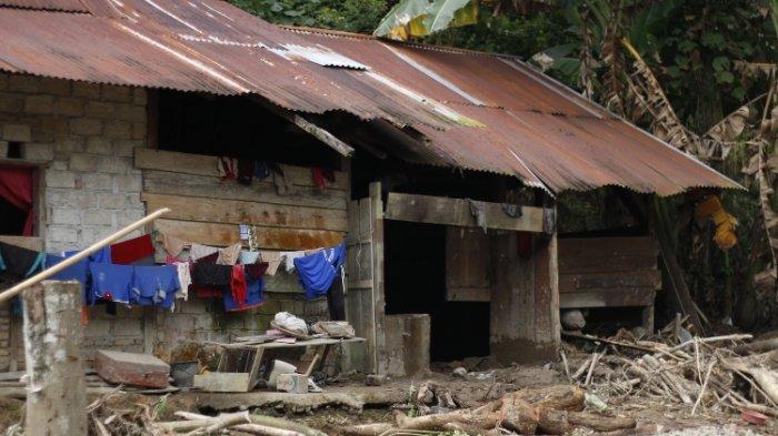 Banjir dan Longsor Burana Mamasa, 67 Rumah Rusak & 20 Ekor Babi Hanyut