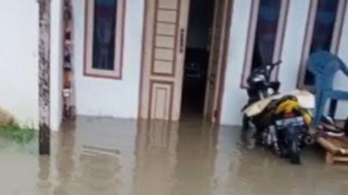 Intensitas Hujan Tinggi, Dusun Samalio Mekkatta Malunda Dikepung Banjir