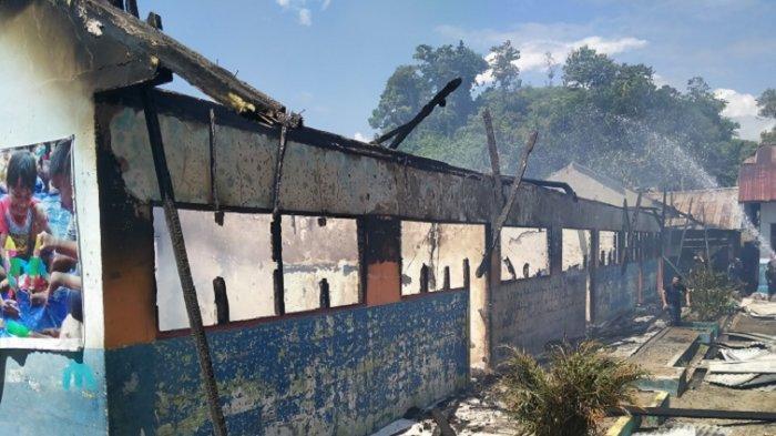 VIDEO: SD Inpres Salupangi Mamuju Ludes Terbakar