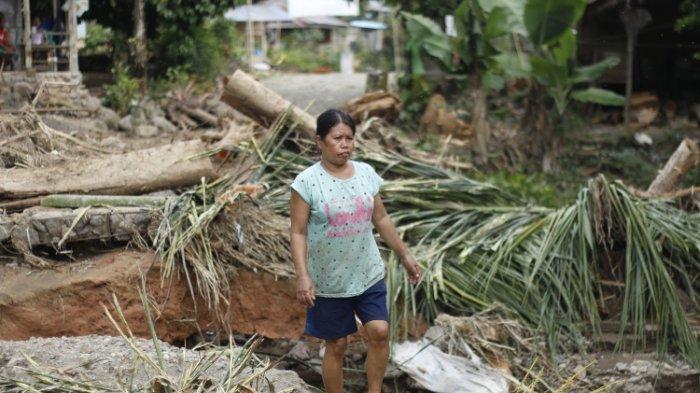 Cerita Korban Banjir Burana Mamasa Nyaris Terseret Air, Rumahnya Tersisa Rangka dan Lemari Kayu