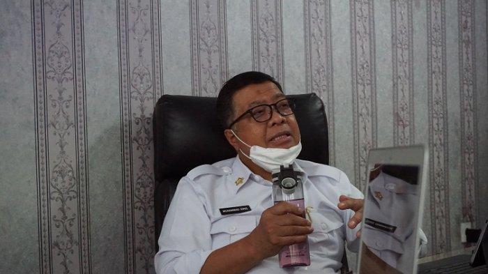 Sehat Ala Sekda Sulbar Dr M Idris dengan 'Wai Dolong' Minuman Khas Mandar