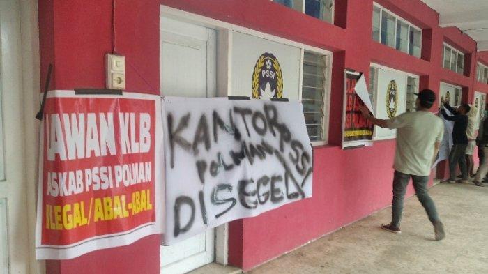 Alasan KLB PSSI Polman Ditolak Hingga Sekretariat Disegel, Ahmad: Kepala Desa Ikut Memilih