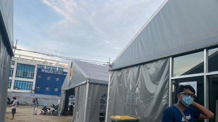 FOTO: Kondisi Terkini Rumah Sakit Tenda Darurat RSUD Sulbar
