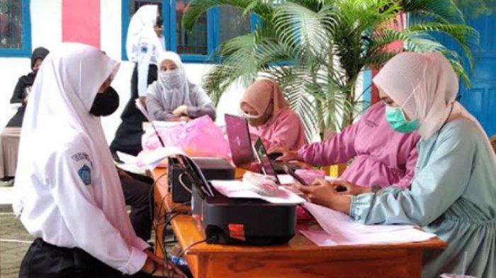 Terkendala Izin Orangtua, Jumlah Siswa Ikut Vaksin di SMK YPP Wonomulyo Sepi