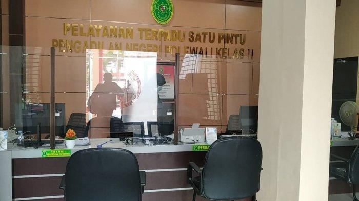 Kantor Pengadilan Negeri Kelas IIb Polman Lockdown Setelah Seorang Pegawai Meninggal Akibat Covid-19