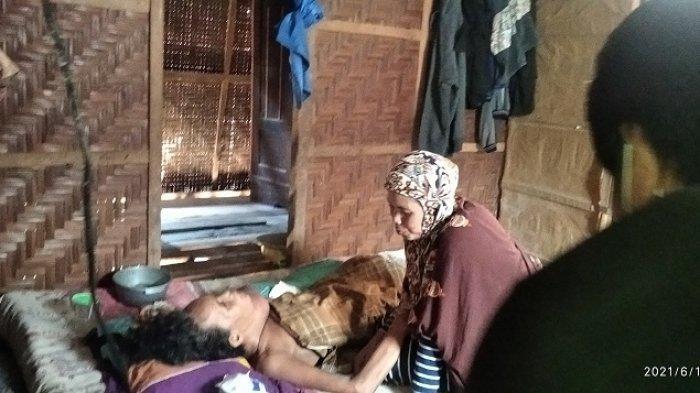 Butuh Bantuan! Janda 5 Anak Idap Tumor di Bonra Polman Gagal Operasi Terkendala Biaya