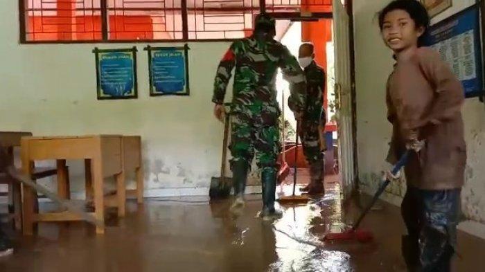 Banjir dan Longsor Landa wilayah Polman, Sekolah hingga Rumah Terendam Banjir
