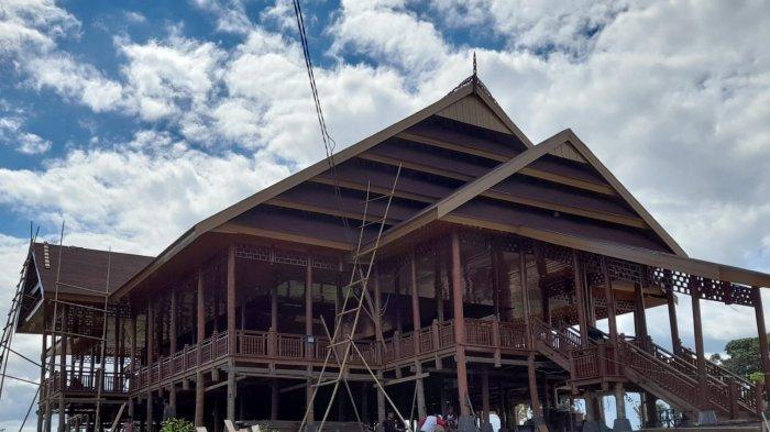 Taman Budaya Buttu Ciping Sulbar yang menghabiskan anggaran Rp2 milliar