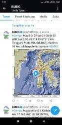 BREAKING NEWS: Kabupaten Mamasa Diguncang Gempa Magnitudo 5.2 SR, Warga Panik Berhamburan