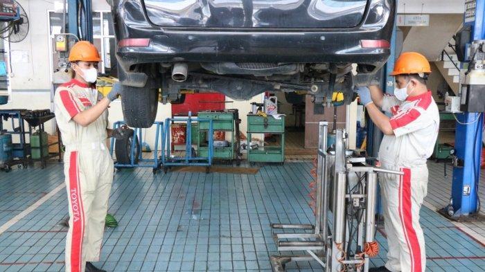 Program Setampan di Bengkel Kalla Toyota Dapat Oli Gratis 1 Liter