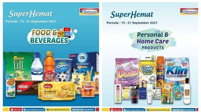 Promo Indomaret Minggu 19 September 2021, Serba Beli 2 Gratis 1
