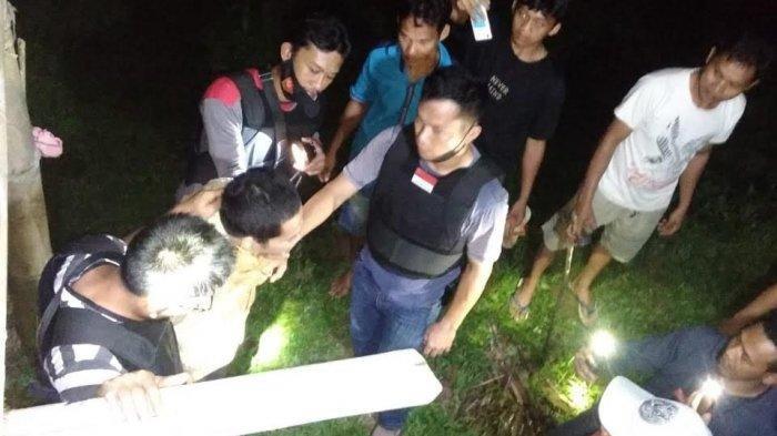 Terduga Pencuri Motor Ditangkap Personel Polsek Mambi di Kelurahan Talippuki Mamasa
