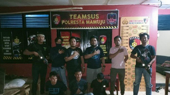 3 Pemuda Curi Kabel Bernilai Ratusan Juta di Mal Matos Mamuju Ditangkap Polisi