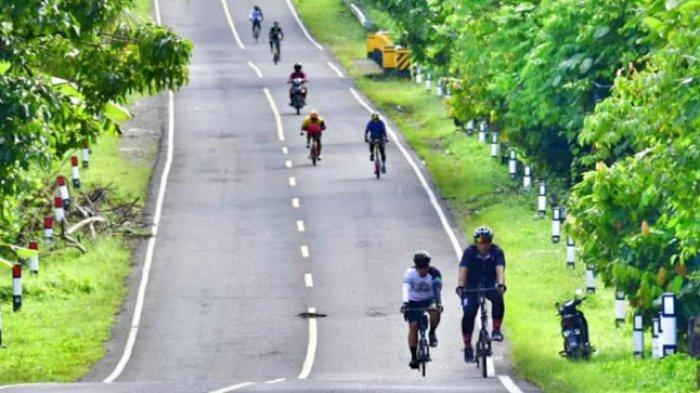 Tim Jelajah Kemerdekaan 460 KM Tiba di Polewali Mandar
