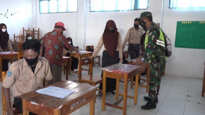 Satgas Tindaki SMA & SMK YPPP Wonomulyo, Belajar Tatap Mukanya Langgar Prokes Covid-19