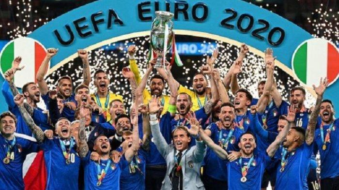 Timnas Italia Juara EURO 2020, Inggris Gigit Jari: Berikut Hasil Adu Penalti Inggris vs Italia