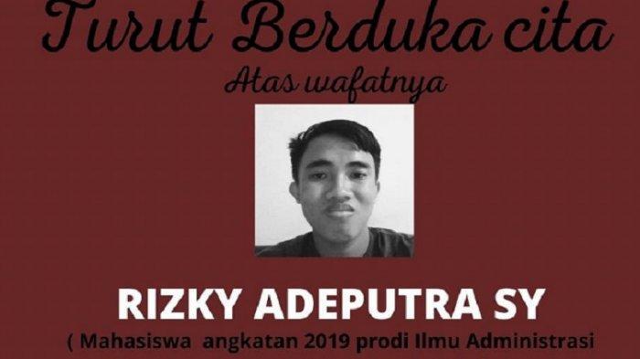 Teman Kuliah Rizky di UNM Parepare: Ia Sosok yang Baik & Akrab Sama Siapapun
