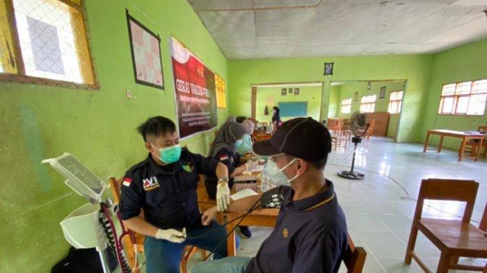 Polres Polman Gelar Vaksinasi Keliling, Sasaran Ramaja Usia 13 Tahun