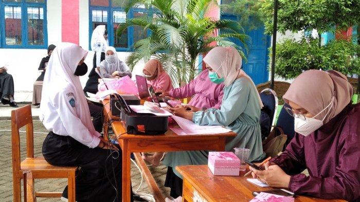 PTM di Polman Berjalan Lancar, Kadis Pendidikan Harapan Guru & Peserta Didik Tetap Patuhi Prokes