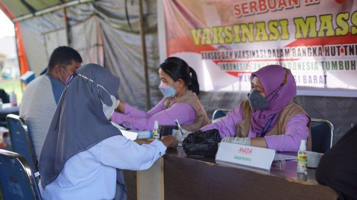 33 Tahun Pengabdian Untuk NKRI, Alumni Akabri 89 di Sulbar Gelar Vaksinasi Massal