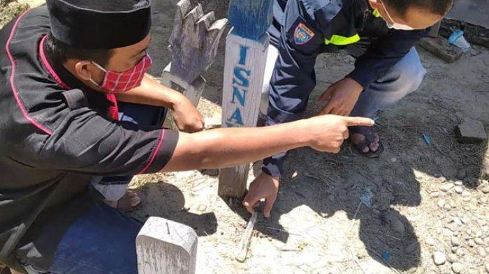 Foto Wanita Ditemukan di Kuburan Polman Ternyata Orang Parepare