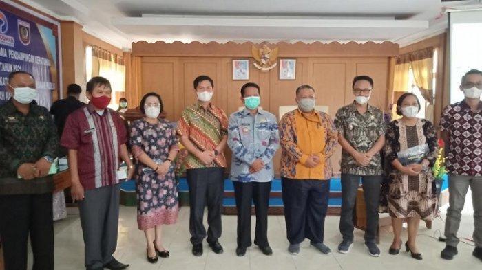 Pelayanan Publik di Kabupaten Mamasa Tahun 2020 Dapat Raport Hijau dari Ombudsman