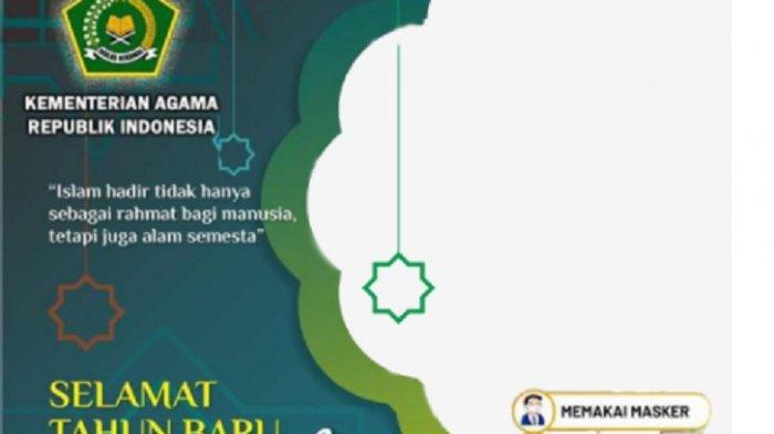 30 Link Twibbon Sambut Tahun Baru Islam 1443 H & Cara Membuat Kartu Ucapan 1 Muharram 1443 H