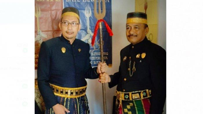 Arajang Kerajaan Binuang ke-XVIII Gelar Prosesi Penyerahan Tahta dan Pengukuhan