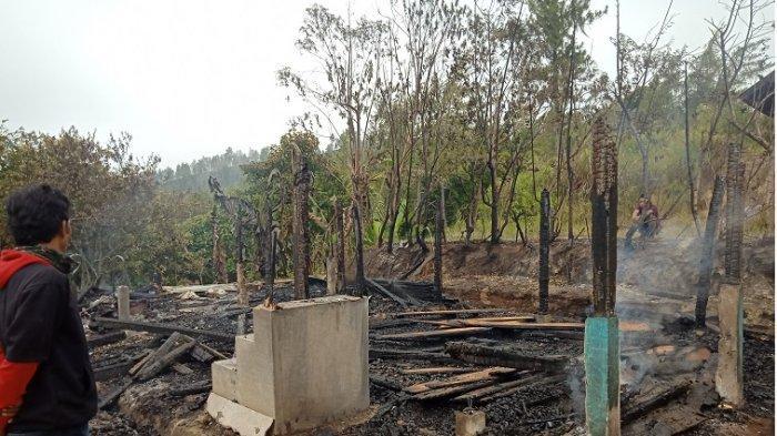 Rumahnya Ludes Dilalap Si Jago Merah, Korban Kebakaran di Dusun Sirope Berharap Bantuan Pemerintah