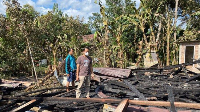 Pemuda di Binuang Polman Bakar Rumah Sendiri