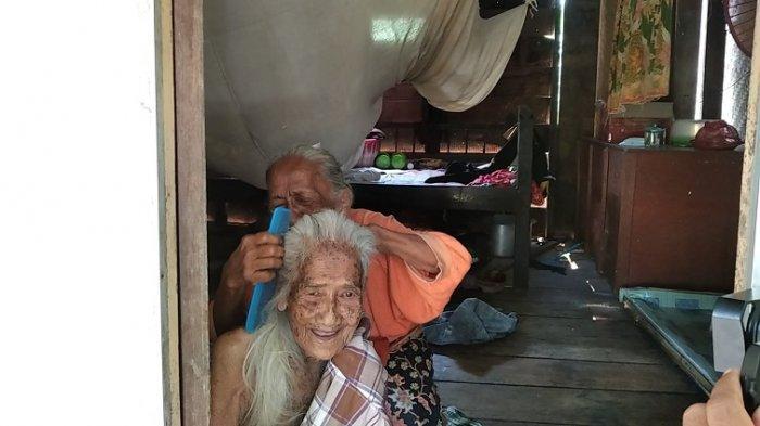 CERITA Sapina 72 Tahun Rawat Ibunya Umur 100 Tahun di Rumpa Polman, Hidup dari Bantuan