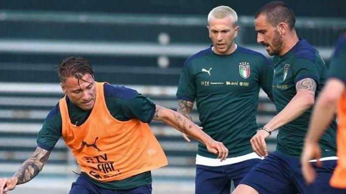3 Nama Dicoret Mancini, Daftar Nama Pemain Timnas Italia untuk Euro 2020