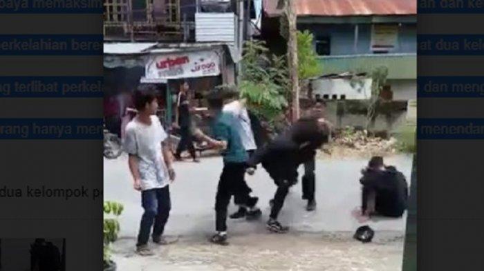 VIRAL Adu Jotos Pemuda di Wonomulyo, Polisi Segera Panggil Orangtua Bersangkutan