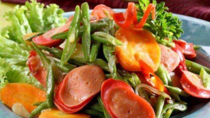 RESEP dan Cara Membuat Masakan Lezat dari Sosis Termasuk Sosis Paprika Lada Hitam