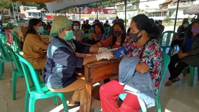Sambut HUT Bhayangkara, Polres Mamasa Lakukan Vaksinasi Massal