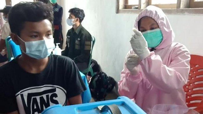 Dukung Program Vaksinasi, Kodim 1428 Mamasa Gandeng Dinkes Sasar Desa Banea