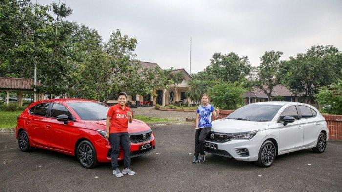 Honda Apresiasi Prestasi Greysia Polii dan Apriyani Rahayu Hadiahi Honda City Hatchback RS
