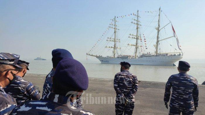 KRI Bima Suci Arungi Nusantara Selama 99 Hari Misi Pelayaran Kartika Jala Krida